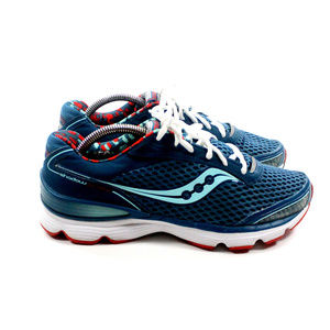 SAUCONY Shadow Genesis Blue Running Shoes Sneakers